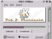 KDE2-Pillbox