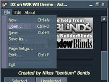 DX on W2K WB theme