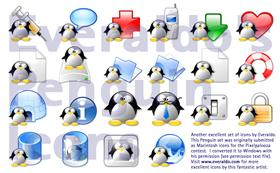 Everaldo Penguin icons