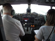 DC3 cockpit
