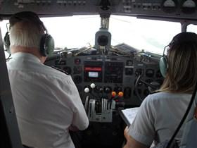 DC3 cockpit