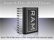 Icon-A-Day #86 (RAM Drive)