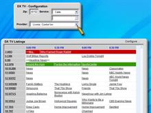 DX2 TV Listings