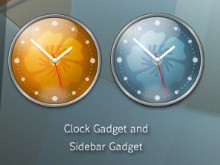 Lantana Sidebar Clocks