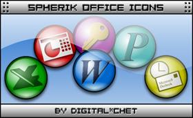 Spherik Icons - MS Office