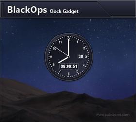 BlackOps Clock