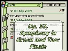 Op. 55, Symphony in Green and Tan: Finale
