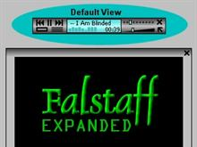 Falstaff Expanded (Aqua)