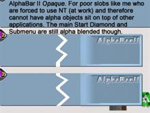 AlphaBar II Opaque
