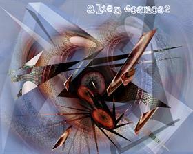 alien cosmos2 - organic explosive