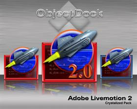 Adobe Livemotion 2.0 Crystalized Pack ver. 1.0