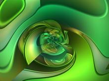Green Twist 2 by donnalorelei