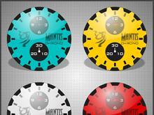 MANTIS CHRONO CLOCK DOCKLETS