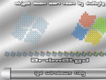 LED Windows Flag Animated