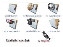 Realistic IconSet