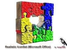 Realistic IconSet (Microsoft Office)