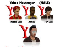 Realistic Yahoo Messenger IconSet (MALE)