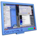 Blue Crystal Monitor