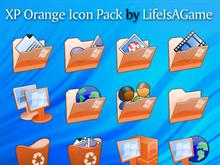 XP Orange Icon Pack