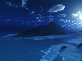Love Island Night Scene