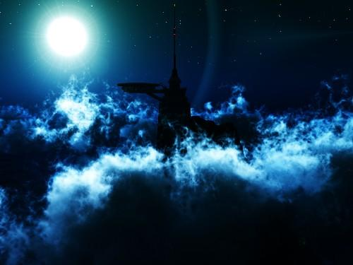 One Night Above Clouds