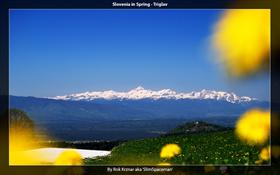 Slovenia in Spring - Triglav