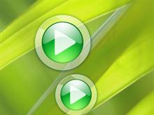 Windows Media Player 11 Green