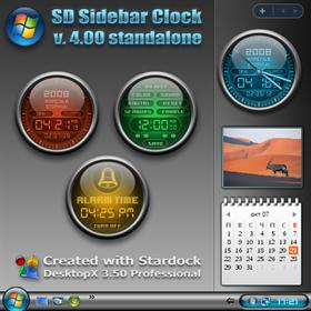 SD Sidebar Clock (standalone)