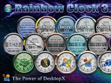Rainbow Clock 1.0 