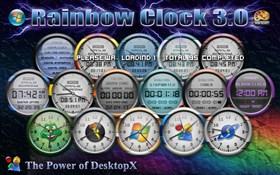 Rainbow Clock 1.0