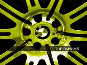 BMW In Yellow