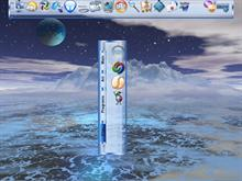 Frosted Blue Dock and Tabs