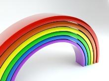 Rainbow up