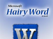 Microsoft Hairy Word