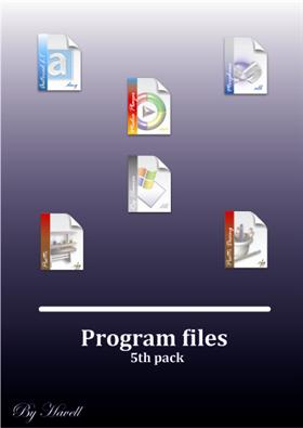 Windows file icons 5th Pack