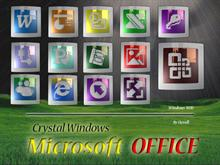 Crystal Windows Microsoft Office