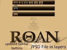 Roan WB Taskbar Buttons