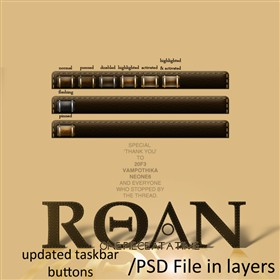 Roan WB Taskbar Buttons