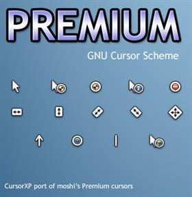 moshi's Premium Cursors