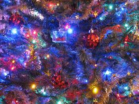 My Vegas christmas tree.