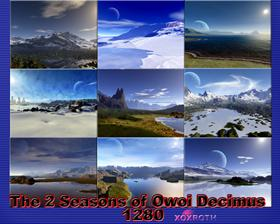 The 2 Seasons of Owoi Decimus 1280