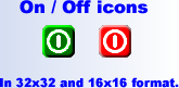 On / Off icons