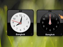 MacOS X - Clock Widget