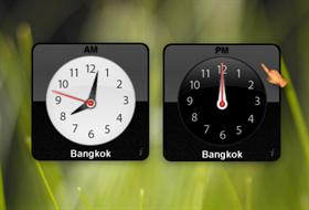 MacOS X - Clock Widget