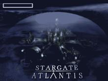 Stargate Atlantis At Night