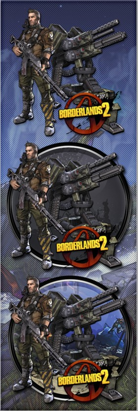 Borderlands 2 Axton