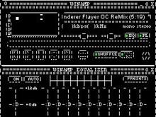 Black Winamp ASCIIified