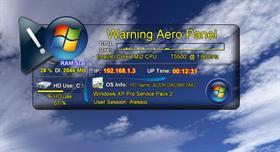 Aero - Warning Control Panel
