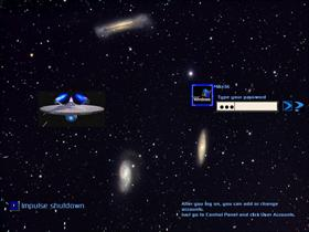 Enterprise in Galactic Cluster