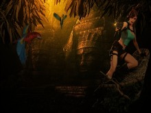 Tomb Raider_Mayan Temple_wallpak
